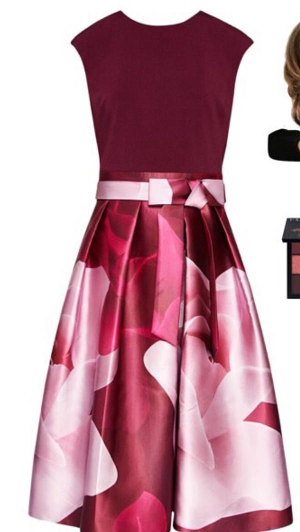 ted baker porcelain rose dress
