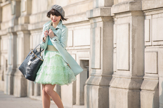 bag valentine mint