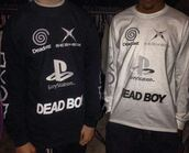 sweater,sad,yung lean,gamer,geek,playstation,sabot,sadboy,tumbr,teamsesh,bones,soundcloud