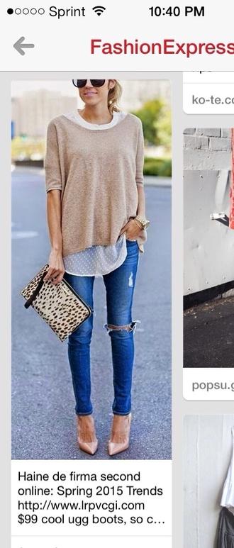 blouse sheer blouse polka dots