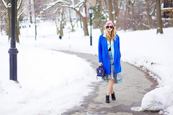 late afternoon coat skirt sweater jacket hat shoes bag