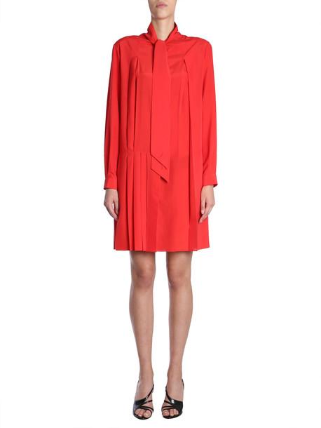Givenchy Crepe De Chine Silk Shirt Dress