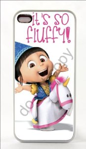 Amazon.com: NEW Iphone 5 5s Print White Rubber Case Cover Unicorn Movie Despicable Me 2 Minions (Ships From Alabama): Cell Phones & Accessories