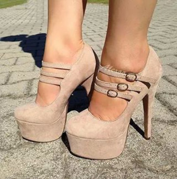 beige shoes shoes
