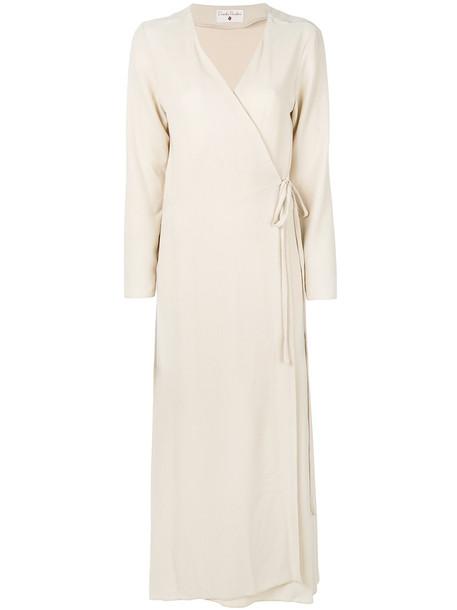 Daniela Pancheri dress wrap dress women nude