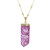 Dyed Crystal Quartz Necklace