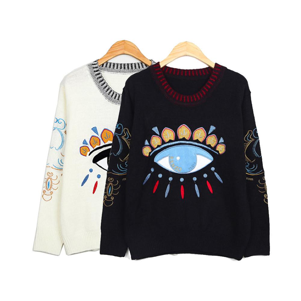 Eye sweater / back order – holypink