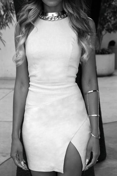 Fashion cute cut elegant dress