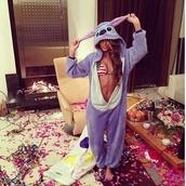 jacket,onesie,disney,cartoon,animation,lilo and stitch,cute,america,bikini,party,pajamas,sleep,slippers