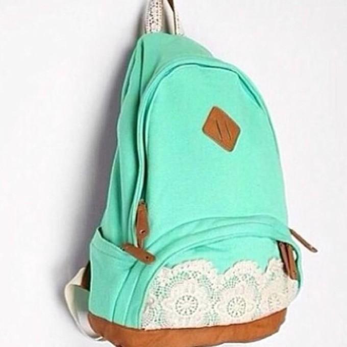 1cc5dfea9a mint green nike backpack