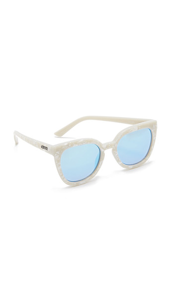 8cb2c20ce4310 Quay Noosa Sunglasses - Pearl Blue - Wheretoget