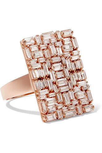 diamond ring rose gold rose ring gold jewels