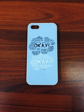 phone cover blue the fault in our stars black white shailene woodley ansel elgort iphone 5 case john green