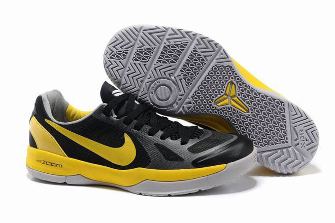 Nike Kobe Black Mamba 24 Shoes Black - Yellow for Mens