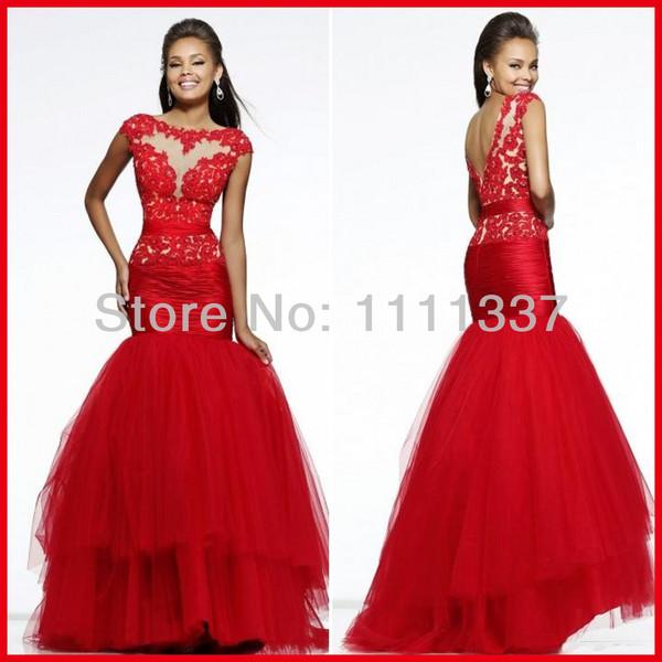 dress prom dress long prom dress red dress elegant beautiful red dress