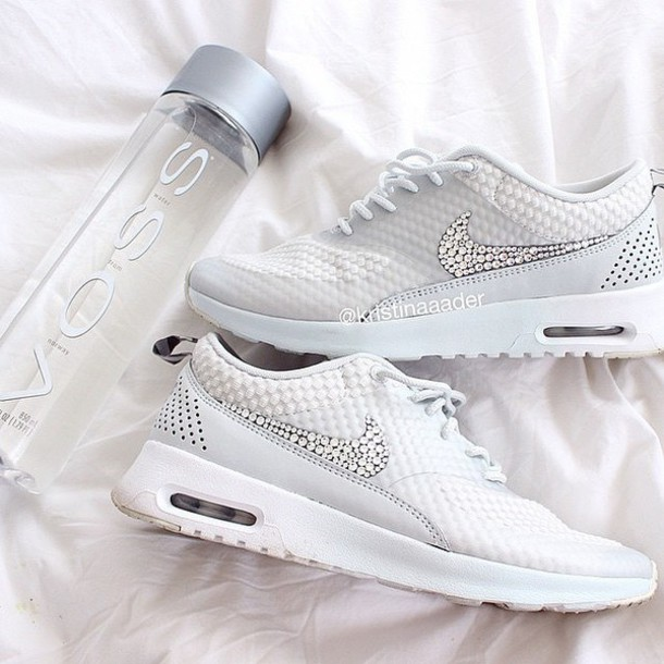 shoes nike running shoes diamonds nike shoes fashion nike air max 1