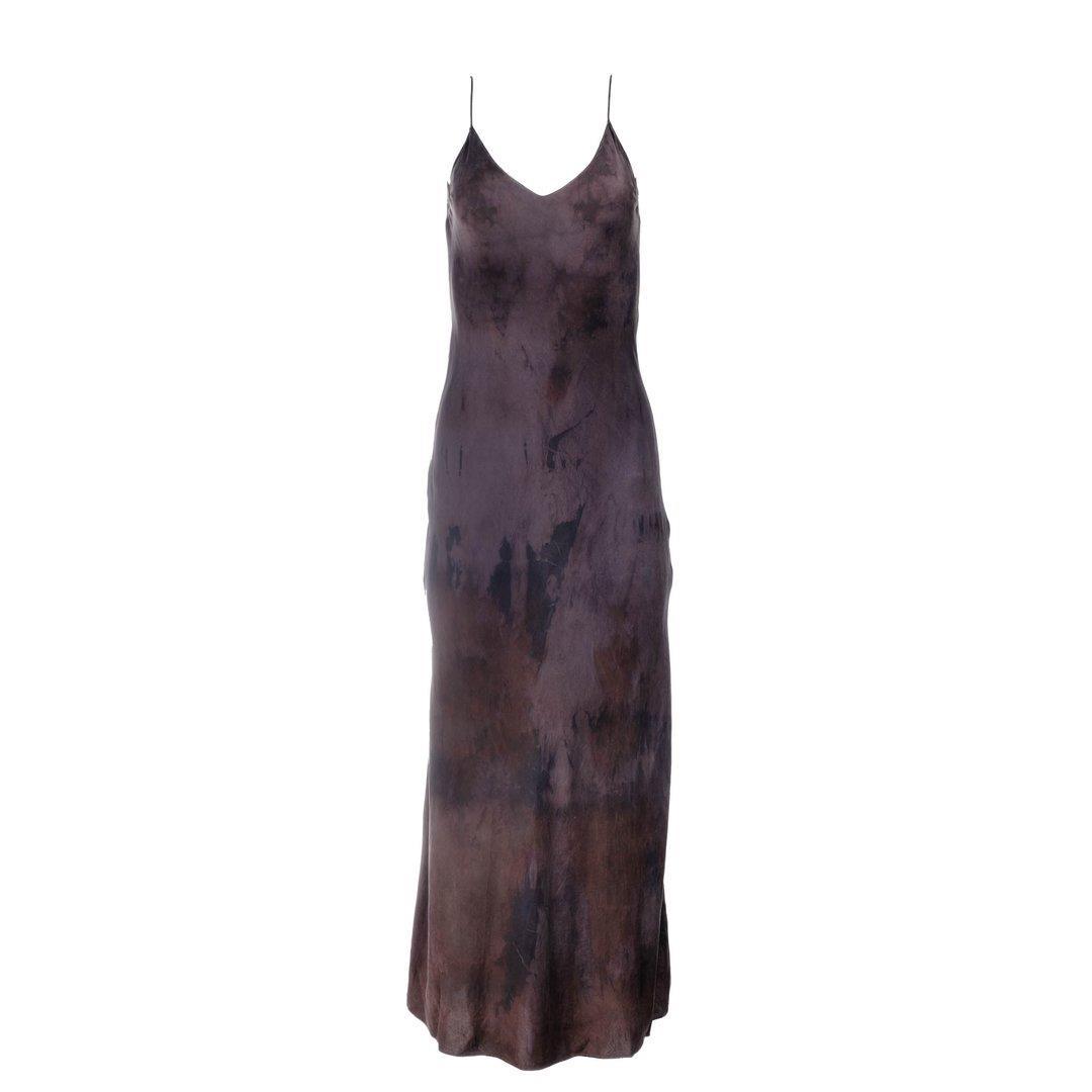 Dusk Natural Hand Dyed Slip Dress