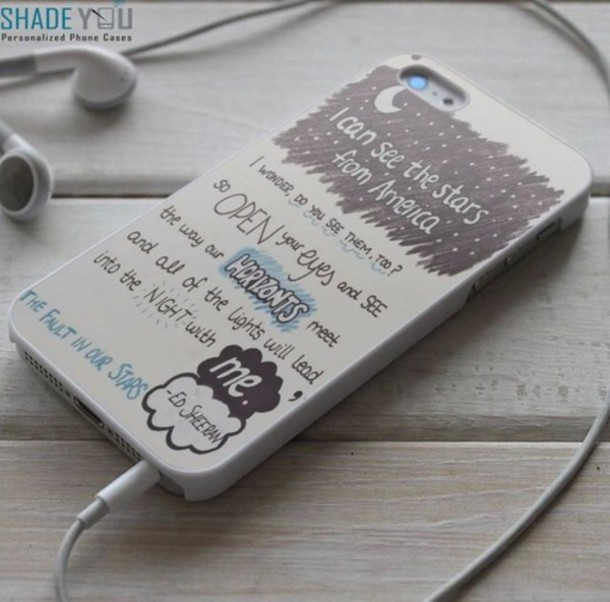 phone cover the fault in our stars phone cover john green infinities infinity blue white black