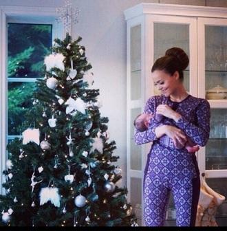 pajamas nightwear matching set winter outfits christmas footie pajamas christmas pajamas