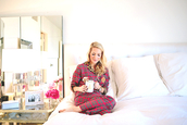 krystal schlegel,blogger,pajamas,bedding,cozy