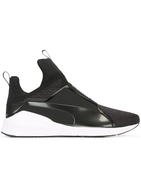 puma women sneakers black shoes