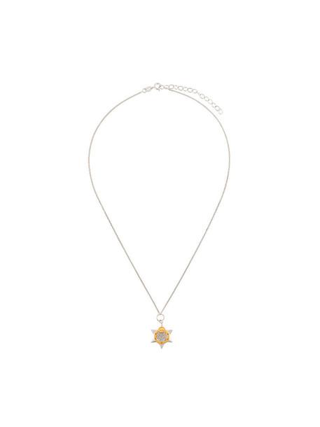 True Rocks women necklace gold silver grey metallic jewels