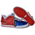 Supra Mid Tops Falcon Red Royal Blue