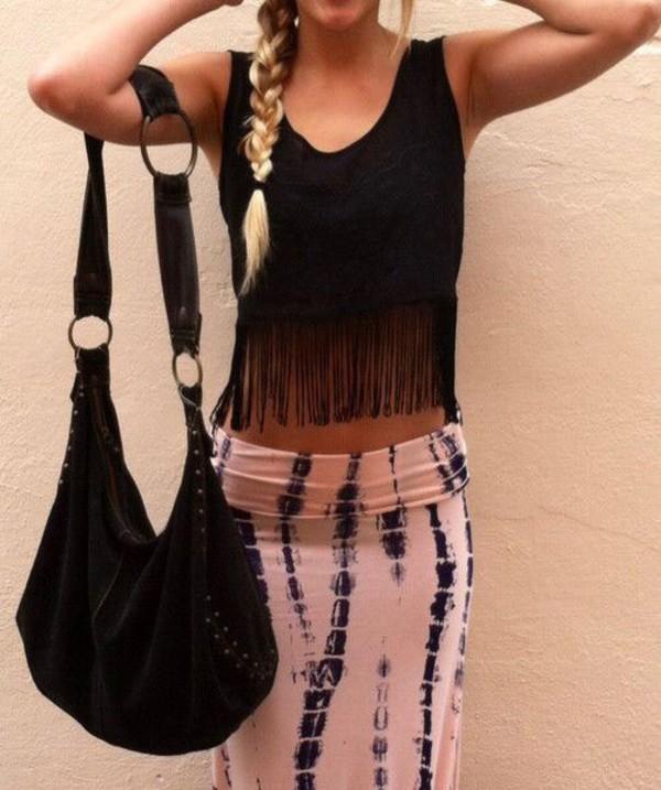 skirt maxi skirt white