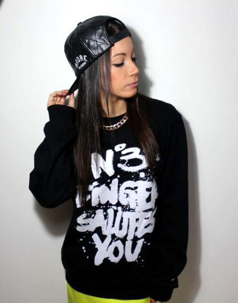 sweater graffiti skateboard urban jumper timberland snapback quilted dope no3fingersalutesyou