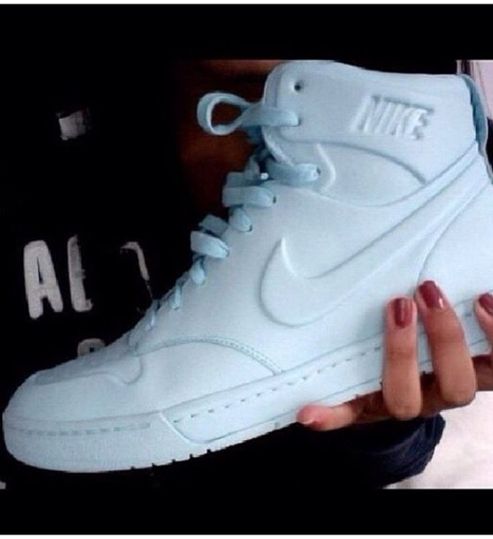 shoes nike white high high top sneakers nike shoes