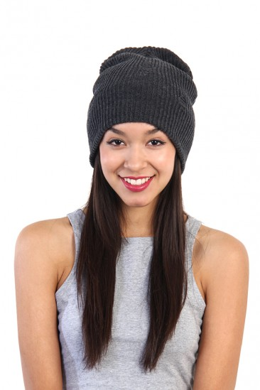 OMG Destroyed Beanie - Gray