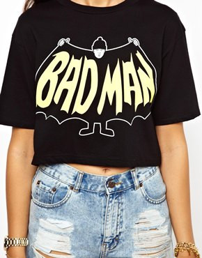 Anim bad man tee