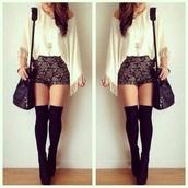 blouse,white,white shirt,white blouse,fransen,cotton,jeans,flowers,black,black jeans,summer,short,mini shorts