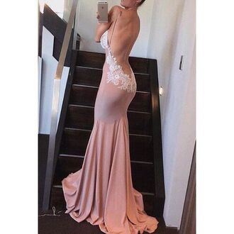 dress blush pink prom dress long dress gown mermaid backless lace dress blue sexy party dress blue low back dress lace dress pink pink mermaid prom dress pink mermaid backless prom dresss pink lace dress mermaid prom dress backless prom dress