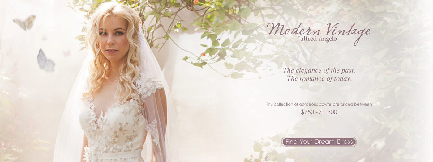 Wedding Dresses and Bridal Gowns from Alfred Angelo