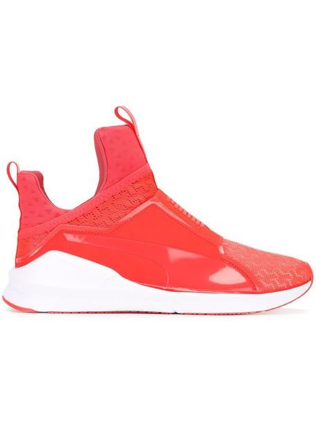 puma women sneakers cotton purple pink shoes