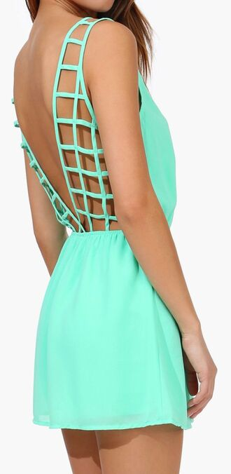dress mint little dress pretty short dress blue grean summer spring graduation graduation dress mint dress graduation dresses