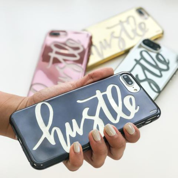 Milkyway Cases CHROME TPU CASE - HUSTLE in gold