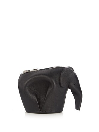 elephant purse black bag