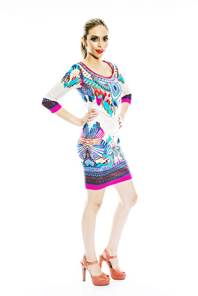 dress tribal pattern fashion