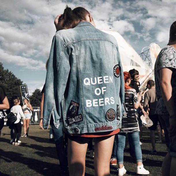 Jeans Jacket For Girls Tumblr Teethcat Com