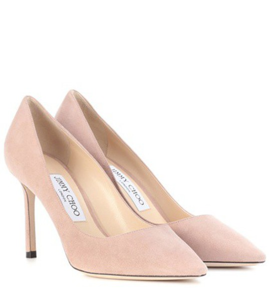 Jimmy Choo suede pumps pumps suede pink shoes