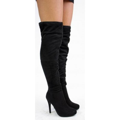 Over The Knee Boots - Knee High Boots - Boots