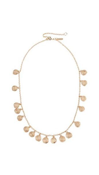 Elizabeth and James necklace gold jewels