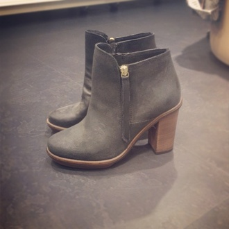 shoes booties boots grey boots grey shoes heels heeled boots pinterest
