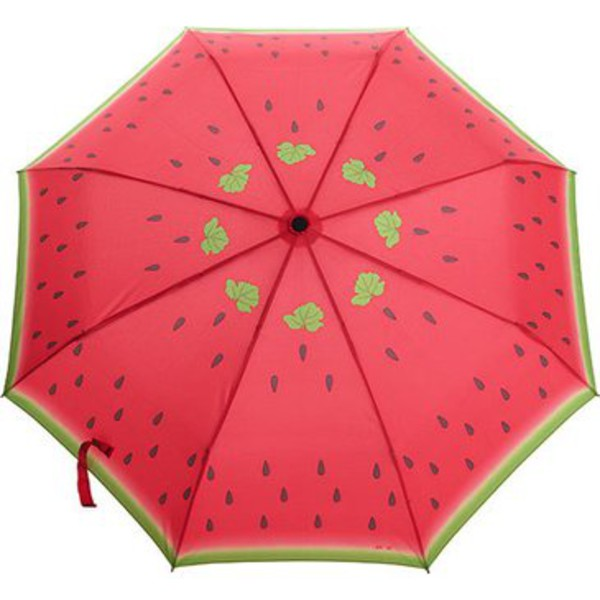 make-up watermelon print umbrella