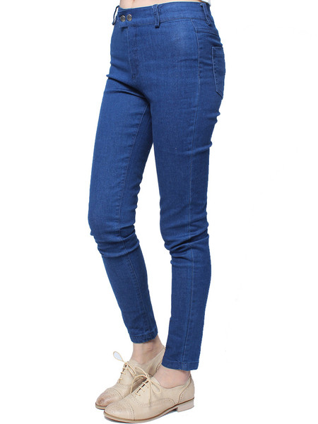 Bunia Skinny Denim Pants | Outfit Made