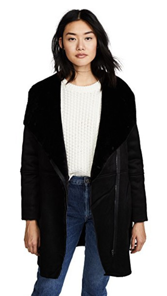 BB Dakota coat black