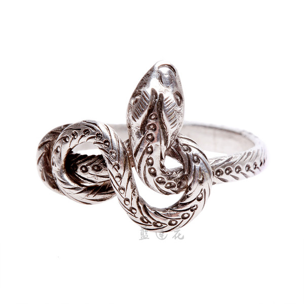 jewels nepal snake ring handmade 925 silver ring