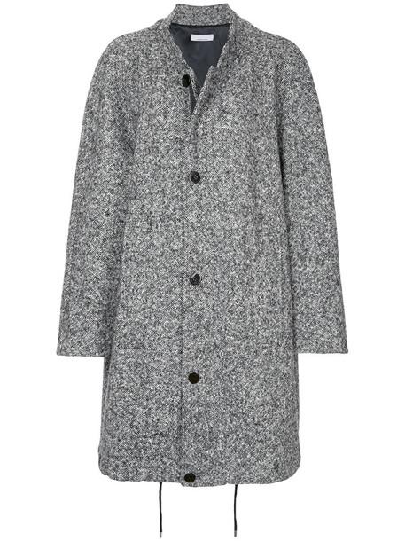 Jean Paul Knott coat oversized women black wool
